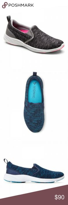8bf9589be9f3 VIONIC style  AGILE KEA A women s slip on style athletic shoe. Color(s)   outer-grey black