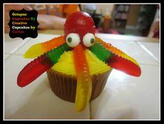 Underwater Theme Birthday Party Cupcakes