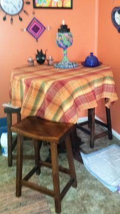 Boraam Florence Sunburst Pedestal Pub Table Cappuccino   From Hayneedle.com    STUFF I WANT   Pinterest   Products