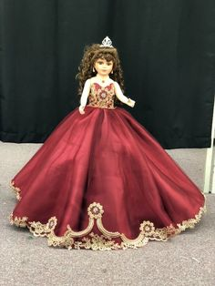 6e5180eed7177 12 Best Dolls Quinceanera images in 2017 | Quinceanera decorations ...