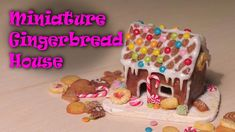 Hey guys! This tutorial is for a simple looking gingerbread house - I used some of the candy from a previous video to decorate it, if you haven't seen that v...