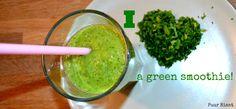 Deze smoothie lusten kinderen óók!  http://www.puurriant.nl/recepten/de-stiekem-groene-smoothie