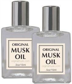 Two Original Musk Oil