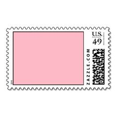 Cherry Blossom Pink Traditional Matching Color Stamps