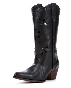 391e2f8638c25f Dingo Women s Wendy Cowgirl Boots - Black http   www.countryoutfitter.com