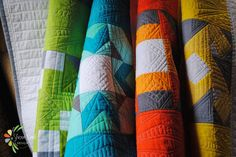 (7) Name: 'Quilting : Modern Block of the Month Quilt Pattern