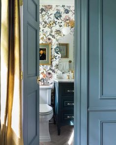 One Room Challenge, The Reveal: A Modern Traditional Master Bedroom Feminine luxe Parisian bathroom Design Furniture, Art Furniture, Blue Bedroom, Master Bedroom, Master Bath, Room Ideas Bedroom, Bedroom Decor, Bedding Decor, Bedroom Designs