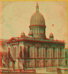 Vicker's church, Cincinnati. 1865?-1895?