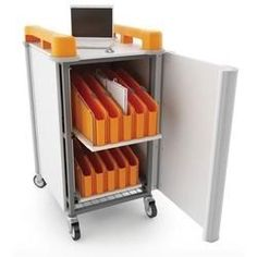 LapCabby Mini Mixed Device Charging Trolley 20 Ports for Tablets/Chromebooks/Netbooks or Laptops