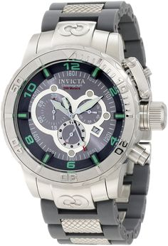 Invicta Corduba Ibiza Swiss Chronograph Men's Watch - Gray / Silver Tone - 6675 >>> You can find more details by visiting the image link.