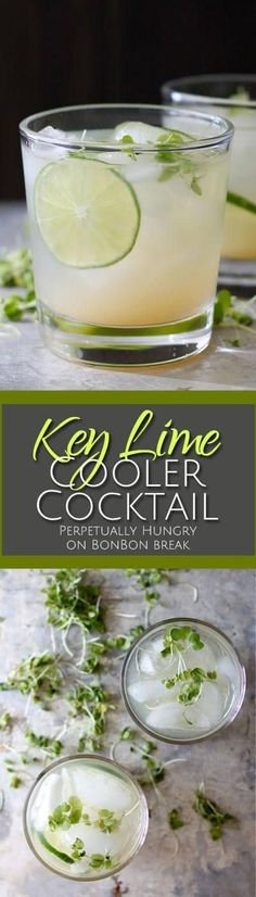 Add a burst of flavor to your life with a Key Lime Cooler Cocktail, a refreshing drink with a great tart flavor.
