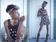 He makes me bold Dot Dress, Polka Dots, How To Make, Dresses, Style, Vestidos, Stylus, Dress, Polka Dot