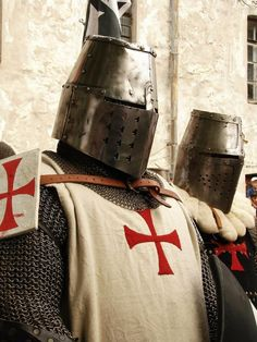 Templar knights? sell me a armor suit iam going to need one with taylor hill! laughing!