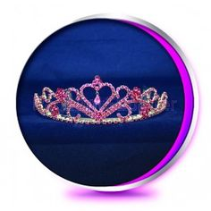 The Priscilla Pageant Crown or Wedding Tiara (Homecoming, Prom, Bridesmaid, etc)