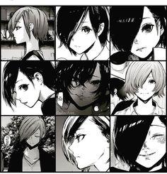 Choose from your wide array of Tokyo Ghoul characters. Manga Art, Manga Anime, Anime Art, Kaneki Y Touka, Tokyo Ghoul Pictures, Tokyo Ghoul Manga, Tokyo Mew Mew, Waifu Material, Image Manga