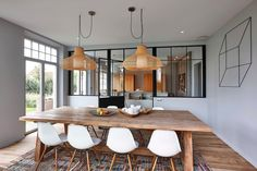 House in Knokke by Just'In Home Design Home Interior Design, House Design, Dining Room Design, House Interior, Contemporary Kitchen Design, Dining Room Cozy, Home, Interior, Dining Nook