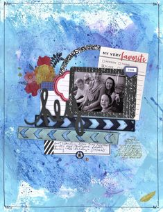Hey everybody! I've been meaning to share this layout I created last week using Vicki Boutin's latest collection and a few of her art crayon...