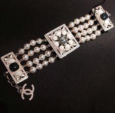 Chanel Dubai, Cruise 2014/15 Chanel Dubai, Bracelet Watch, Cruise, Watches, Diamond, Bracelets, Accessories, Jewelry, Fashion