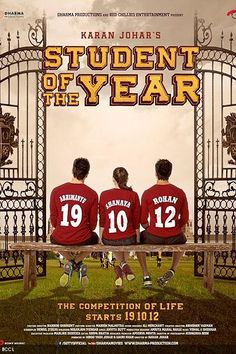 awesome Student Of The Year (Hindi Movie / Bollywood Film / Indian Cinema) - Blu-Ray Movie Songs, Film Movie, Varun Dhawan Movies, Varun Dhawan Body, Spiritual Movies, Bollywood Images, Bollywood Stars, Bollywood Celebrities, Upcoming Movie Trailers