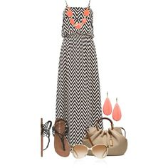 Maxi Dress by colierollers on Polyvore