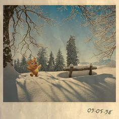 Winter is one of Bert's favourite seasons! Playing in the snow is THE BEST! #royalstorygame #nicememories