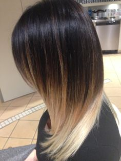 Beautiful Ombre done by our stylist Melissa