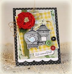 JustRite card designed by Amy Sheffer!!  Stunning!!