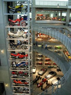 Extreme garage - Probably a little over the top, ya think? :)