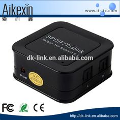 Check out this product on Alibaba.com App:1 optical fiber signal input splitter to 3 SPDIF/TosLink signal receiving device https://m.alibaba.com/QRvYzq