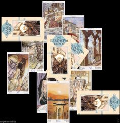 NEU! EROTIK CASANOVA TAROT deutsch 78 erotische Tarotkarten Kartenlegen