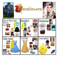 """""""Becky beast (Beauty and the beast daughter)"""" by guadalupe-pablo on Polyvore featuring Alexandre Vauthier, Salvatore Ferragamo, Benefit, Disney, Piaget, AMBUSH, WearAll, City Chic, Precis Petite and Valentino"""