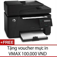 Máy in HP LaserJet Pro đa chức năng M127FN + Tặng 1 voucher 100.000VND mực in VMAX