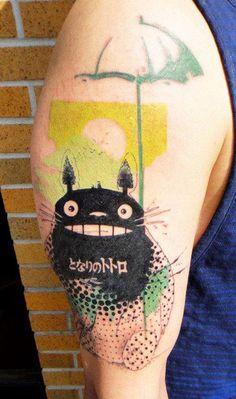 Cartoon Tattoo by Xoil Tattoo | Tattoo No. 10500