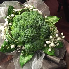 The broccoli wedding bouquet toss-Japan's quirky substitute for the garter belt