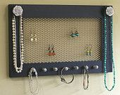Love these jewelry holders!