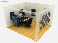 EQ Acoustics Classic Wedge 30 Tile grey - Thomann Nederland