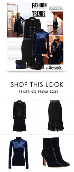 """""""16.11.16"""" by bliznec ❤ liked on Polyvore featuring Yves Saint Laurent, Dolce&Gabbana, TIBI, Gianvito Rossi and New Look"""