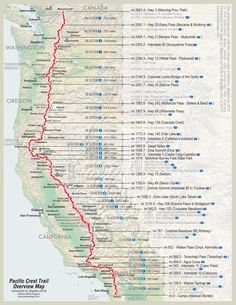 Dreaming about the Pacific Crest Trail hike? Use our 101 guide: ✓Transportation ✓Resupply ✓Hiking gear ✓Common treats ✓Books and guides ✓Trail FAQ [Infographic] Thru Hiking, Hiking Tips, Camping And Hiking, Backpacking Tips, Ultralight Backpacking, Pct Trail, Trail Maps, Appalachian Trail Map, Pacific Crest Trail