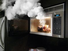 How To Get Rid Of Smell From Microwave Burned Food
