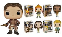 Firefly's Malcolm Reynolds, Jayne Cobb, Hoban 'Wash' Washburne, Kaylee Frye, and Zoe Washburne get the Funko Pop! Vinyl treatment with these all new Pops!