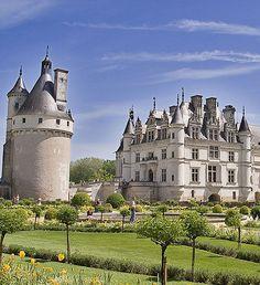 Château de Chenonceau, Chenonceaux, Indre-et-Loire, France - www.castlesandmanorhouses.com