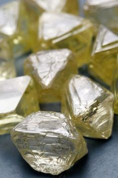 Crystals, minerals, and gemstones-uncut diamonds Uncut Diamond, Rough Diamond, Minerals And Gemstones, Rocks And Minerals, Mineral Stone, Rocks And Gems, Diamond Are A Girls Best Friend, Stones And Crystals, Gem Stones