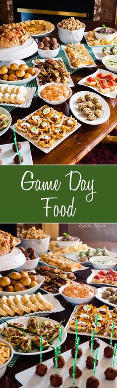 game day food from some of the top food bloggers