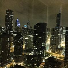 Chicago City south view.