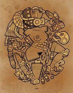 81 Mejores Imagenes De Repujado En 2019 Aztec Art Aztec Designs Y
