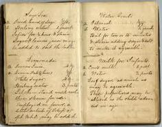 vintage recipe journal...