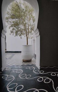 Draw with chalk on our black patio tiles to make an outdoor dance floor #Feelbeautiful #whbm