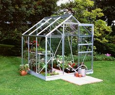6x6 Halls Greenhouses