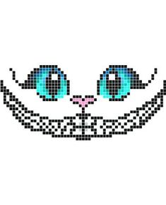 Les 8 Meilleures Images Du Tableau Pixel Art Alice Au Pays Des