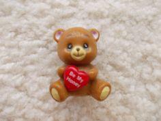 Be My Honey Teddy Bear Toy Figurine 80s Kitschy by JirjiMirji, €5.70